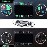 Sylong AC Dash Button Repair Kit, Control & Radio