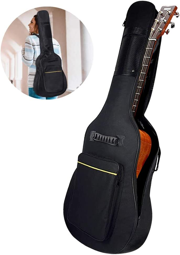 1 Stück 41-Zoll-Akustikgitarre gepolsterte weiche Aufbewahrungstasche