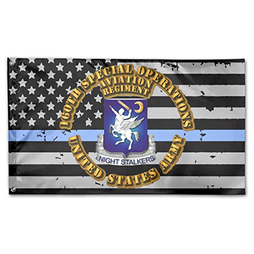 UNSTARFLAG American Flag by U.S. Veterans Owned 160th Special Operations Aviation Regiment Flag 3x5 Ft
