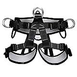 Climbing Safety Belt, Outdoor Climbing Rescue Belt Downhill Safety Half Body Harness high Altitude Belt Belt