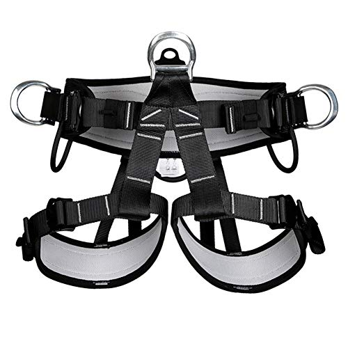 Climbing Safety Belt, Outdoor Climbing Rescue Belt Downhill Safety Half Body Harness high Altitude Belt Belt by HENRYY (Image #6)