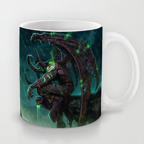 Popular Gift Choice - White 11 oz Classic White Ceramic Mugs Cutom Design with World Of Warcraft(11) Coffee Mugs/Tea Mugs/Drink Cups - Dishwasher and Microwave Safe