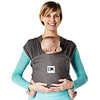 Baby K'tan Breeze Baby Carrier, Charcoal, Small