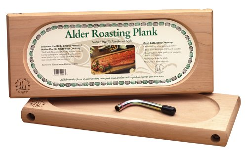 Nature's Cuisine NC003 Large Alder Oven Roasting Plank, 17 by 7-Inch