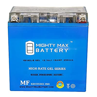 YB16CL-B GEL 12V 19AH Battery for Kawasaki Mule 2510 (2000 - 2011) - Mighty Max Battery brand product