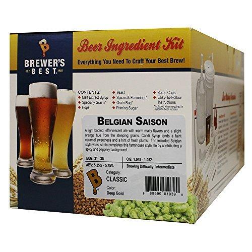 - Brewer's Best 1039 Belgian Saison