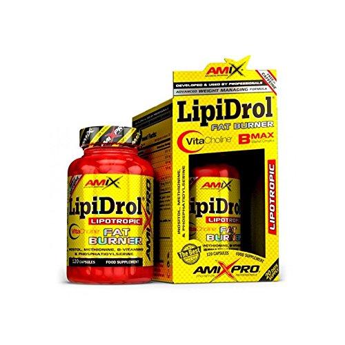 AmixPRO LipiDrol Fat Burner 120 caps. - De Fitness