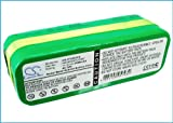 Battery for Infinuvo CleanMate QQ1, QQ2, 365, QQ2 Basic, QQ-2 Green, QQ-2 White, QQ-2L, QQ-2 Plus, QQ2 LT