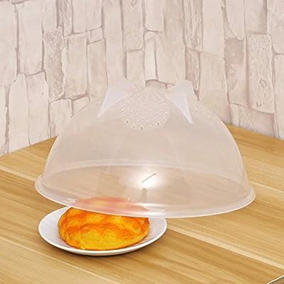 Para el plato de microondas vapor alimentos tapa de guardia y ...