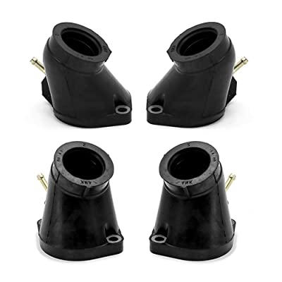 Motoparty XVZ1300 Carburetor Intake Manifolds Boot Set For Yamaha Royal Star 1300 Tour Classic 1996-2001 XVZ1300 XVZ13A Intake Boots Joint Carb Holder: Automotive