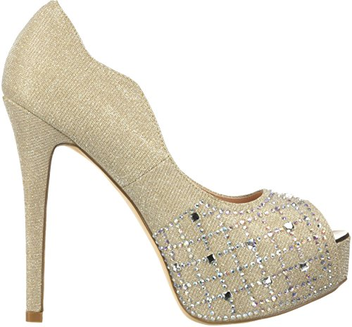 Coppia Sogno Womens Swan-25-shine Pump Shine-gold