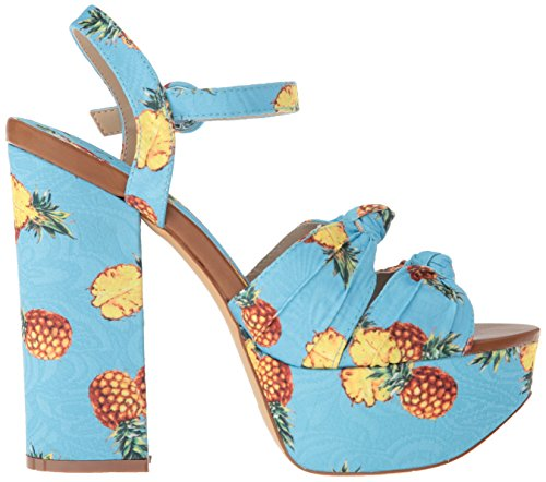 Penny Loves Kenny Women's Scat Platform, Blue Pineapple, 6.5 Medium US by Penny Loves Kenny (Image #6)
