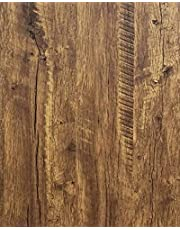 "Wood Wallpaper Peel and Stick Wallpaper Wood Brown Wood Contact Paper Wood Self Adhesive Wallpaper Rustic Removable Wood Contact Paper Wood Grain Wallpaper Wood Plank Countertop Vinyl Film Roll118"""
