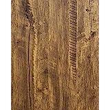 "Distressed Wood Wallpaper Rustic Wood Contact Paper Wood Grain Reclaimed Wood Wallpaper Stick and Peel Self Adhesive Wallpaper Removable Contact Paper Wood Look Wallpaper Roll Vinyl Brown 78.7""x17.7"""