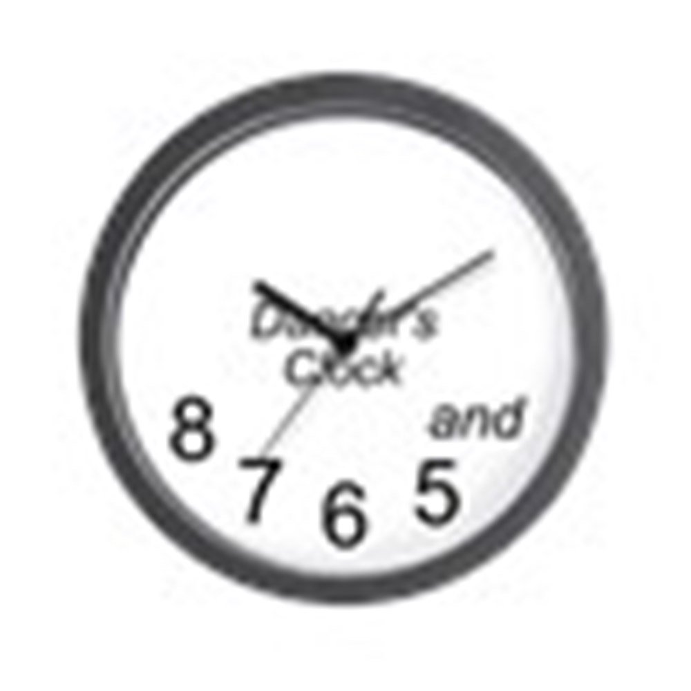 CafePress - Dancer's - Unique Decorative 10'' Wall Clock