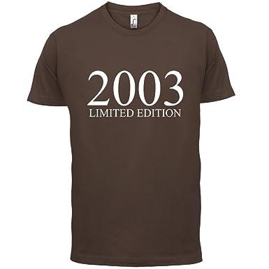 2003 Limierte Auflage/Limited Edition - 15. Geburtstag - Herren T-Shirt -
