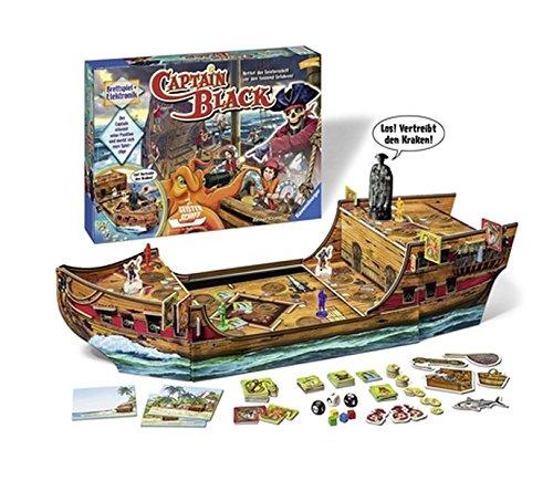 Captain Black: Rettet das Geisterschiff vor den tausend Gefahren!