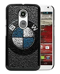Motorola Moto X 2nd Generation Bmw Logo Black Screen Cover Case Custom and Popular Design