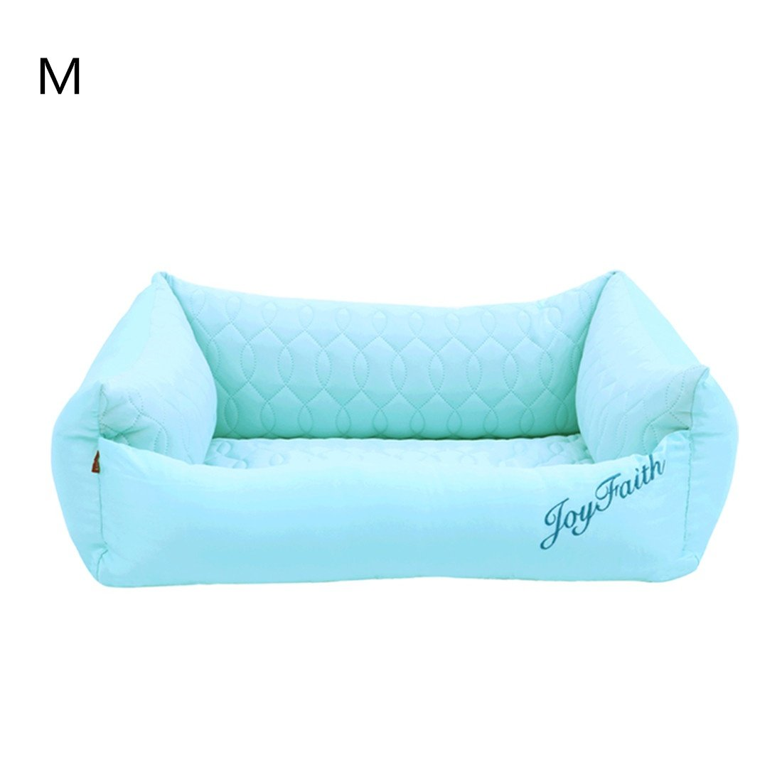 M CHWWO Light Green Luxury Dog Bed Pet Bed Dog Mattress Supplies Cool Fiber Cool in Summer Comfortable Rest time Removable and Washable, M