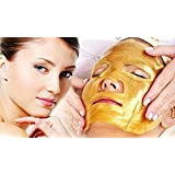 FORTEENS Care 5 x Premium Gold Bio Collagen Crystal Face Mask, Anti ageing Skin Care