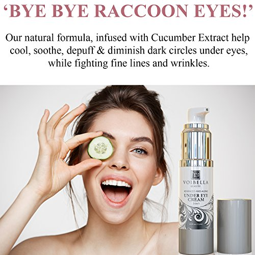 Natural Anti-Aging Under Eye Cream, Best 3-in-1 Treatment ...