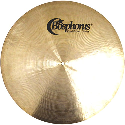 Bosphorus Cymbals T22FR 22-Inch Traditional Series Flat Ride Cymbal