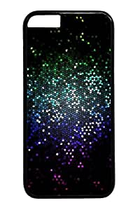 Blue light bokeh Custom iphone 4 4s inch Case Cover Polycarbonate Black