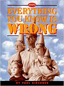everything you know is wrong book pdf