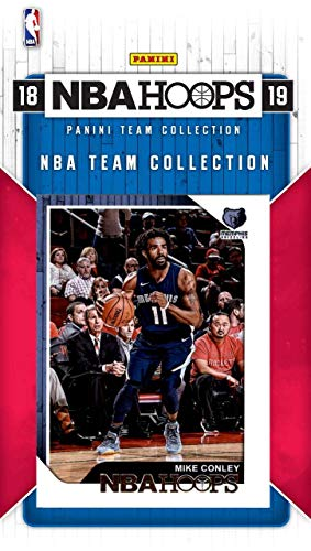 Memphis Grizzlies 2018 2019 Hoops Basketball Factory Sealed 8 Card Team Set with Marc Gasol, Mike Conley, Rookie Cards of Jevon Carter and Jaren Jackson Jr. ()