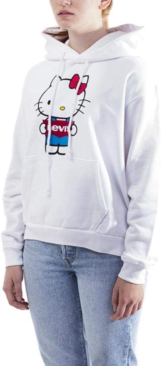 Felpa Levis x Hello Kitty in Cotone