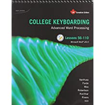 Package: College Keyboarding Lessons 56-110, 19th Canadian Edition + Keyboarding Pro Deluxe Printed Access Card (6 Months)