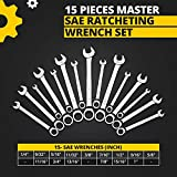 Ratcheting Wrench Set - Unbreakable