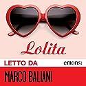 Lolita Hörbuch von Vladimir Nabokov Gesprochen von: Marco Baliani
