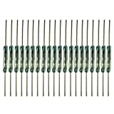 ARTGEAR 20pcs Reed Switch Reed Contact Normally Open (N/O) Magnetic Induction Switch (2mm14mm)
