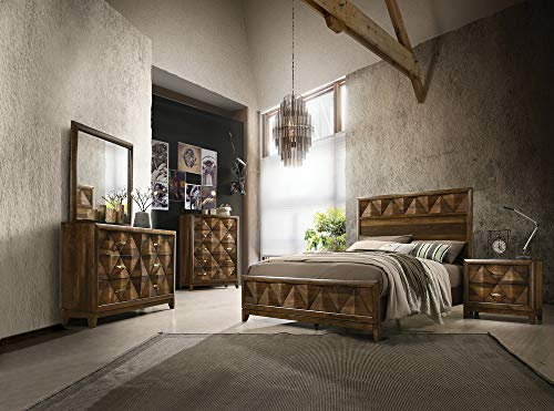ACME Delilah Eastern King Bed - - Walnut