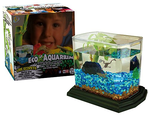 Jewel EcoAquarium™ All in One Dry Goods Kit with Coupon for Living Components (Shipped Separately) Aquatic Frog Pets