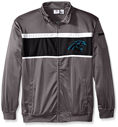 NFL Carolina Panthers Track Jacket, Charcoal