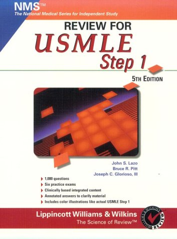 Review for Usmle: United States Medical Licensing Examination, Step 1 (National Medical Series for Independent Study)