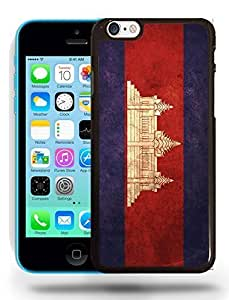diy phone caseCambodia National Vintage Flag Phone Case Cover Designs for iphone 4/4sdiy phone case