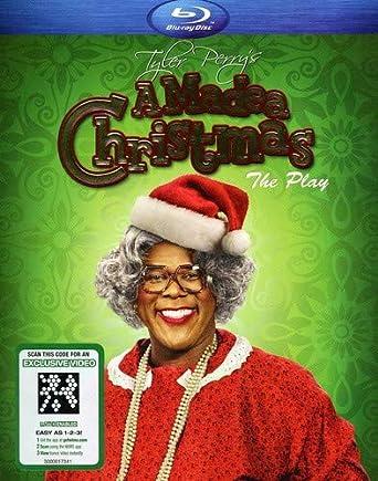 Madea Christmas Play.Amazon Com Tyler Perry S A Madea Christmas The Play Blu