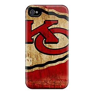 ErleneRobinson Apple Iphone 4/4s Protective Cell-phone Hard Covers Provide Private Custom Trendy Kansas City Chiefs Pictures [pJG23671GDRQ]