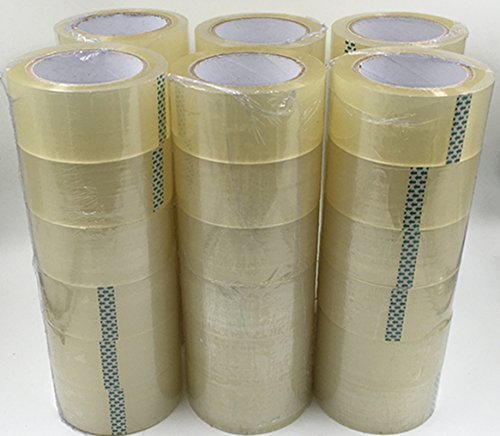 Box Sealing Tape - CG 36 Rolls Clear Carton Shipping Box Sealing Packing Tape 2