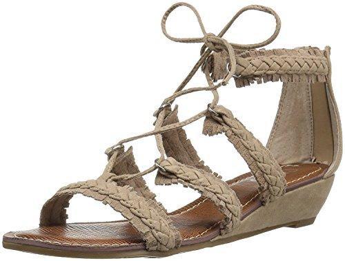Carlos by Carlos Santana Women's Kenzie Flat Sandal, Soft Taupe, 8.5 Medium...