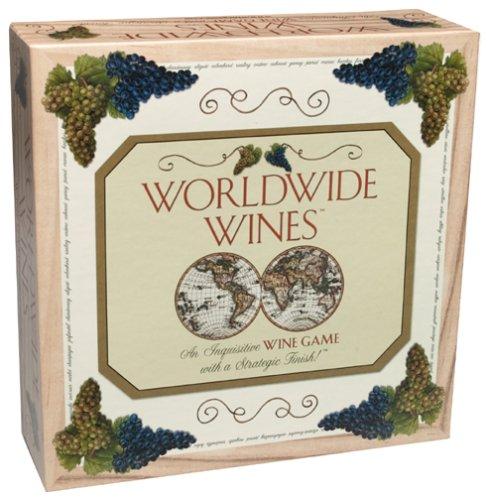 Worldwide Wines Trivia Board Game