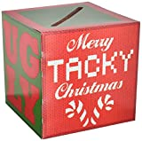 Arts & Crafts : Beistle Ugly Christmas Sweater Party Contest Ballot Box with 10 Ballots, One Size, Multicolor