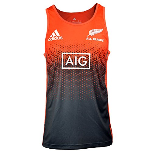 Rugby Training Top - All Blacks 17/18 Singlet (large)