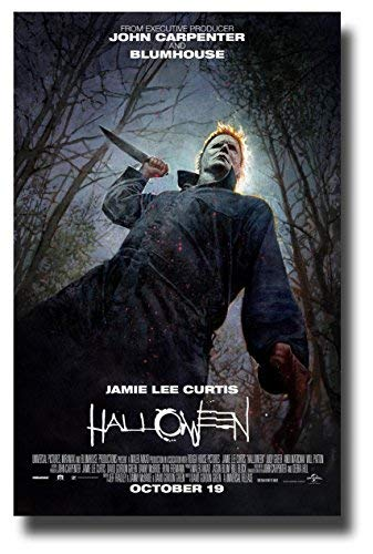 Halloween Movie Poster 2018.Halloween Poster Movie Promo 11 X 17 Inches 2018 Reboot