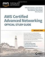 AWS Certified Advanced Networking Official Study Guide: Specialty Exam Front Cover