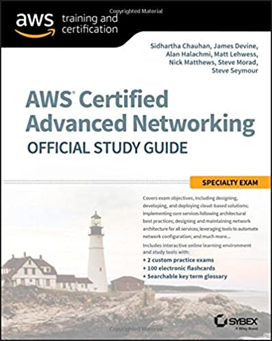 amazon com aws certified advanced networking official study guide rh amazon com network study guide pdf free download network study guide pdf free download