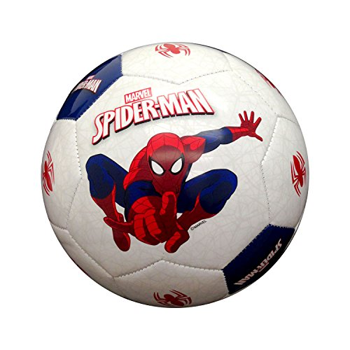 Hello Kitty Spider-Man Soccer Ball, Red/Blue/White, 3